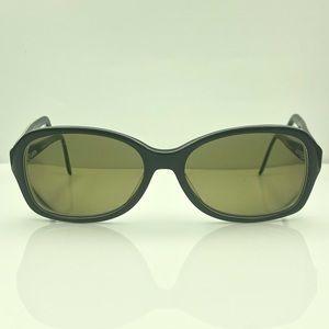 Vintage Nine West Black Oval Sunglasses Frames